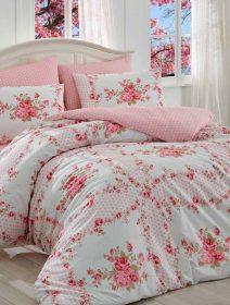 Set de lux cuvertura si lenjerie de pat