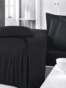 lenjerie-de-pat-stripe-negru