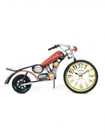 ceas-motocicleta-rosu