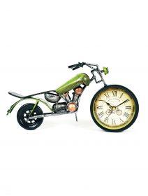 ceas-motocicleta-verde