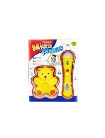 microfon-copii-galben