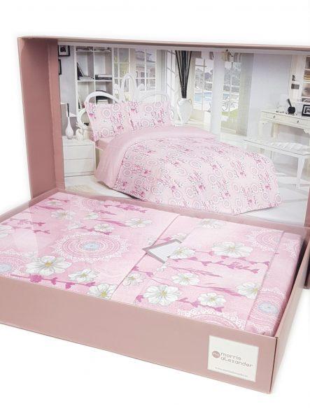 lenjerie-de-pat-roz