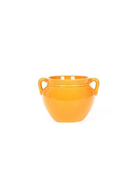 vas-ceramica-portocaliu